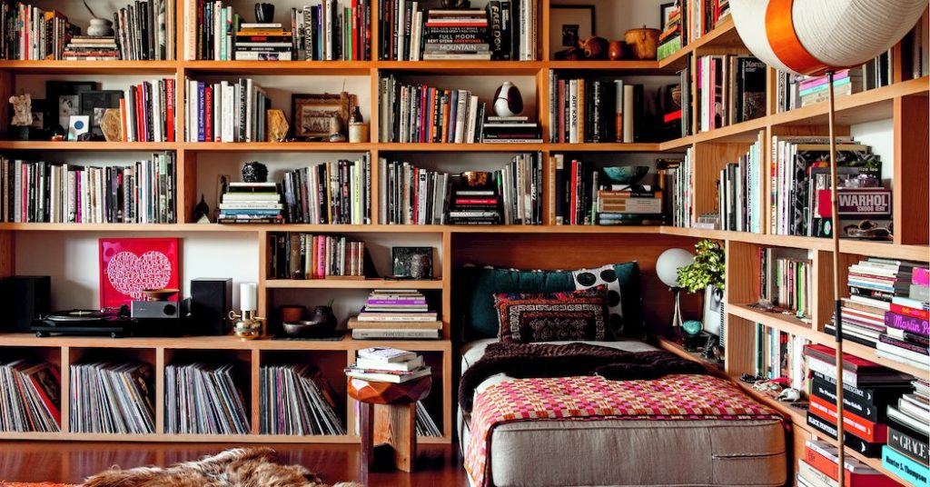Finally There's Time to Read (or at Least Organize Your Books)