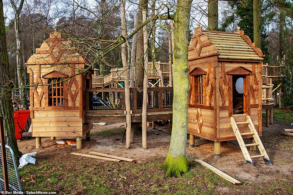 Exploring the revamped playground at Sandringham inspired by the Duchess of Cambridge