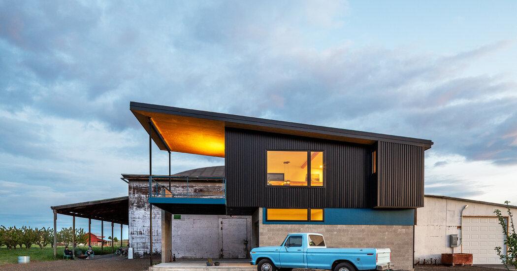 A Derelict Warehouse as a Second Home?