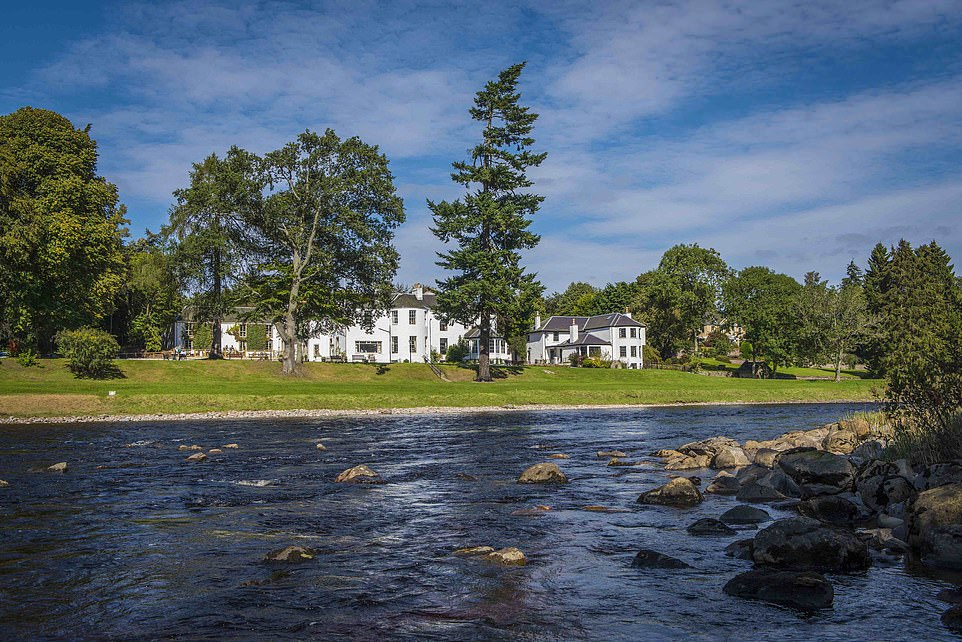 Hotel review: Scotland's Banchory Lodge lies on the banks of the River Dee to the east of Balmoral