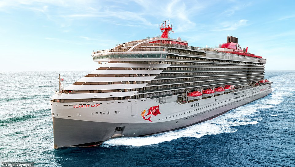 Cruise ship review: On board Virgin Voyages' Scarlet Lady