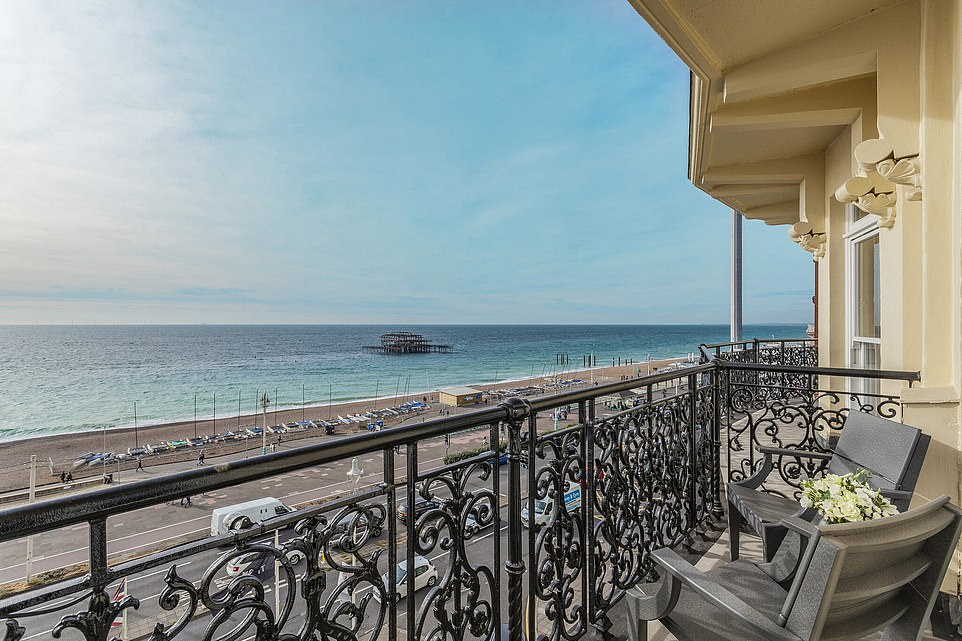 Why a sea-view balcony room at The Grand Brighton hotel should be on YOUR bucket list