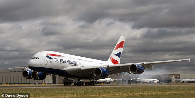 British Airways to resume A380 services with passengers able to book SHORT-HAUL trips from November